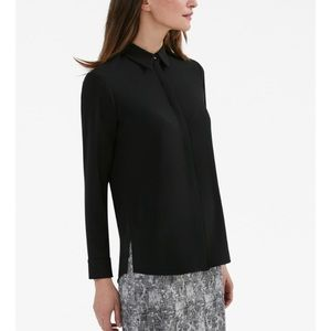 MM Lafleur The Lagarde Shirt Black Button Down